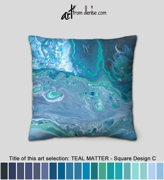 Blue And White Throw Pillows Teal Gray And Navy Blue Etsy Navy Blue Decorative Pillows Bed Pillows Decorative Teal Throw Pillows