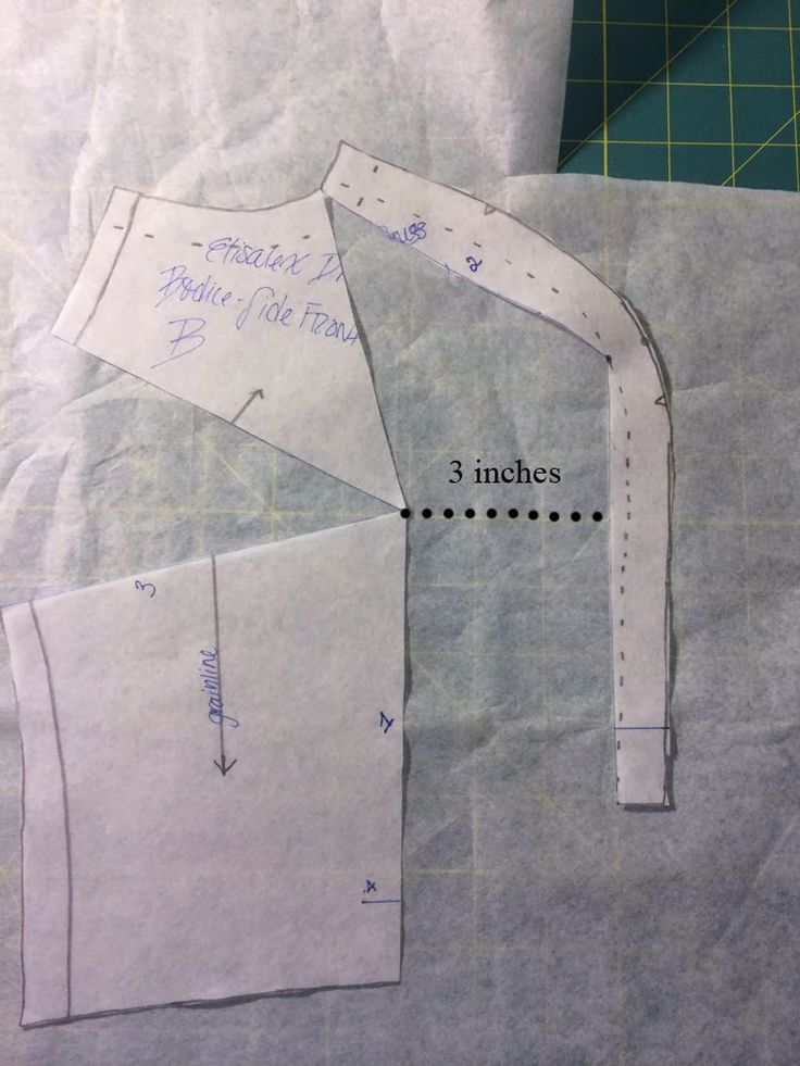 Princess Seams: An FBA for Large Busts | Curvy Sewing Collective