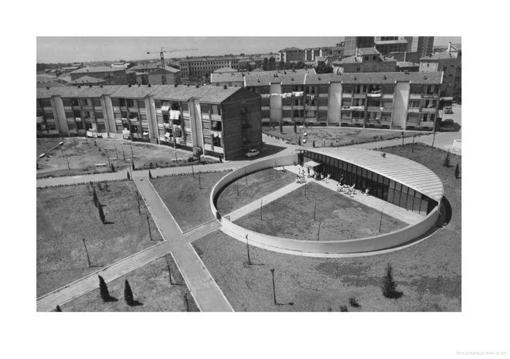 Giuseppe Vaccaro, Nursery school, Piacenza, Italy, 1962