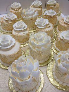 1333 best Cake - Elegant Mini Cakes images on Pinterest | Mini cakes ...
