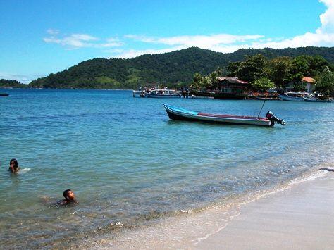Playa de Capurganá.