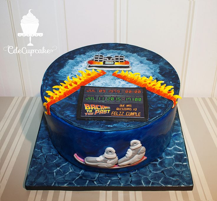 Back To The Future Cake Cdecupcake Back To The Future
