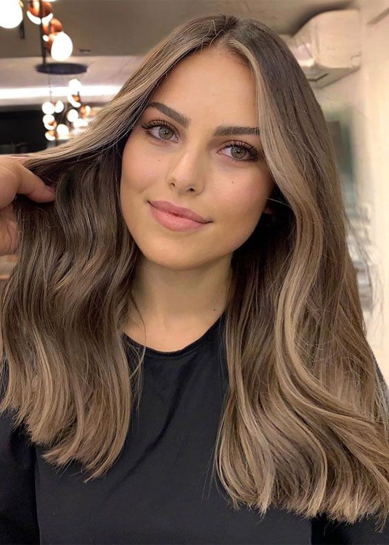 22 Best Hot Hair Color Trends 2020 Light Hair Color Brown Hair Balayage Balayage Hair