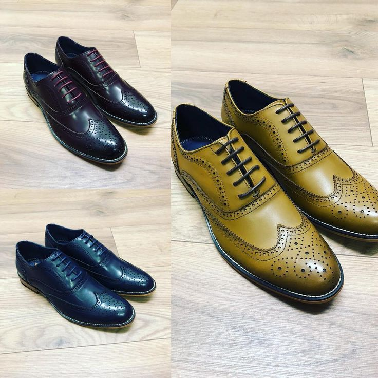 Our top seller  the tan Oxford leather brogue is back in stock & also now available in wine and navy. 44.99  #oxford #brogue #footwear #cavani #jjdonnellymenswear #ballynahinch #leather #christmas #shoplocal