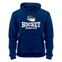 Толстовка утепленная Хоккей - зависимый купить за 1815 руб.