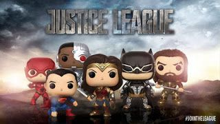 Funko Pop Wave!: La Liga de la Justicia. Funko Pop! unidos