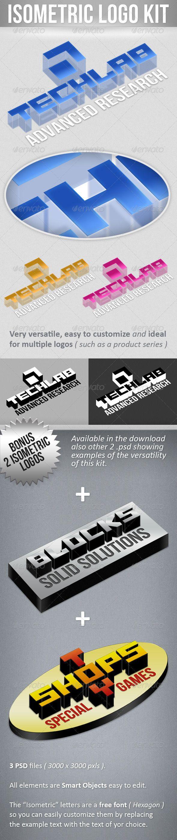 Isometric Logo Kit