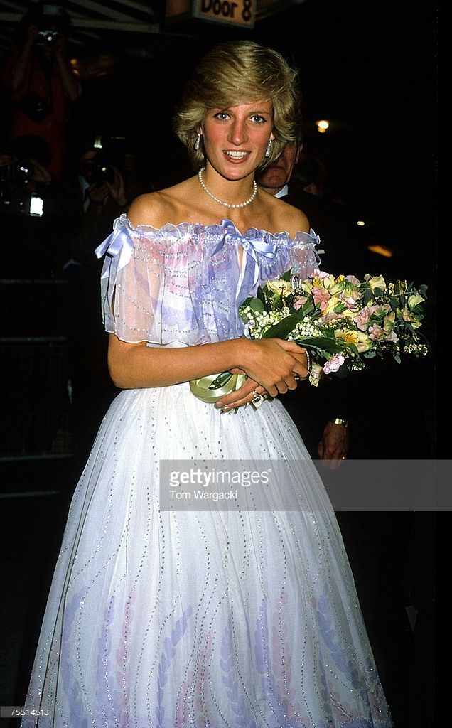 Princess Diana at Albert Hall. May 1983 at the Various in Various, United Kingdom.