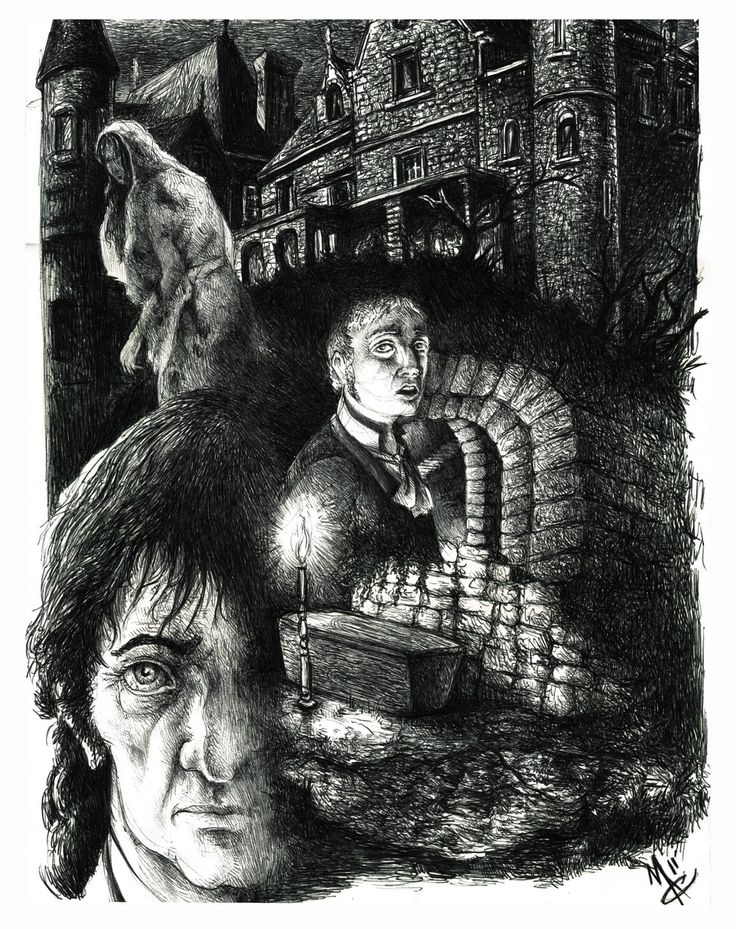 "the imagery of the supernatural in the fall of the house of usher Poe's classic tale ""the fall of the house of usher"" is sort of the the gloomy, and the supernatural (that had this picture for the book image."