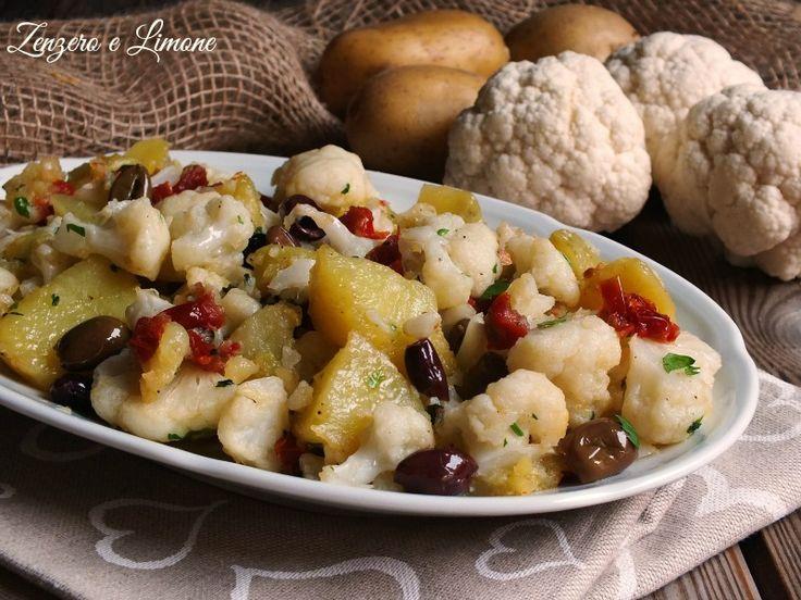 Ilcontorno di patate e cavolfioreè un piatto semplice, ma molto appetitoso che esalta tutta la genuinità di questaverduradi stagione.