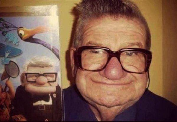27 Cartoon Characters with Their Real Life Look alikes=WHAT. WHAT. WHAT. WHAT. AMAZMENT.