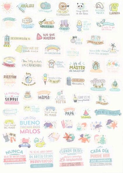 Stickers for your planner free printable mr wonderful - Agendas 2017 bonitas ...