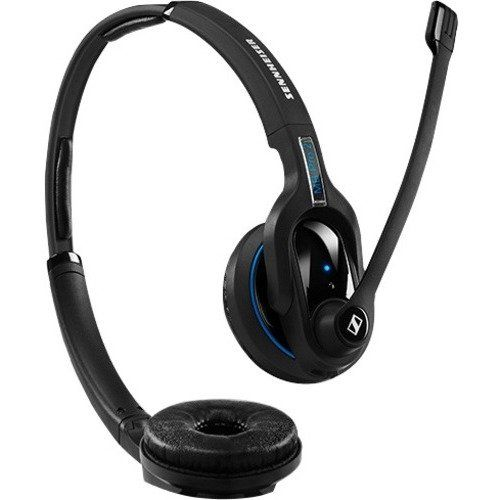 """Sennheiser Electronic Corporation - Sennheiser Mb Pro 2 Uc Ml Headset - Stereo - Wireless - Bluetooth - 82 Ft - 150 Hz - 15 Khz - Over-The-Head - Binaural - Supra-Aural - Noise Cancelling Microphone """"Product Category: Audio Electronics/Headsets/Earsets"""". Sennheiser MB Pro 2 UC ML Headset - Stereo - Wireless - Bluetooth - 82 ft - 150 Hz - 15 kHz - Over-the-head - Binaural - Supra-aural - Noise Cancelling Microphone - Sennheiser MB Pro 2 UC ML Headset - Sennheiser MB Pro 2 UC ML Headset -..."""