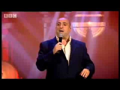 Foreign Accent Syndrome - Omid Djalili comedy stand up com racist to english ppl- BBC.flv