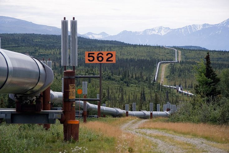 Trans-Alaska Pipeline System  This is on day 5...