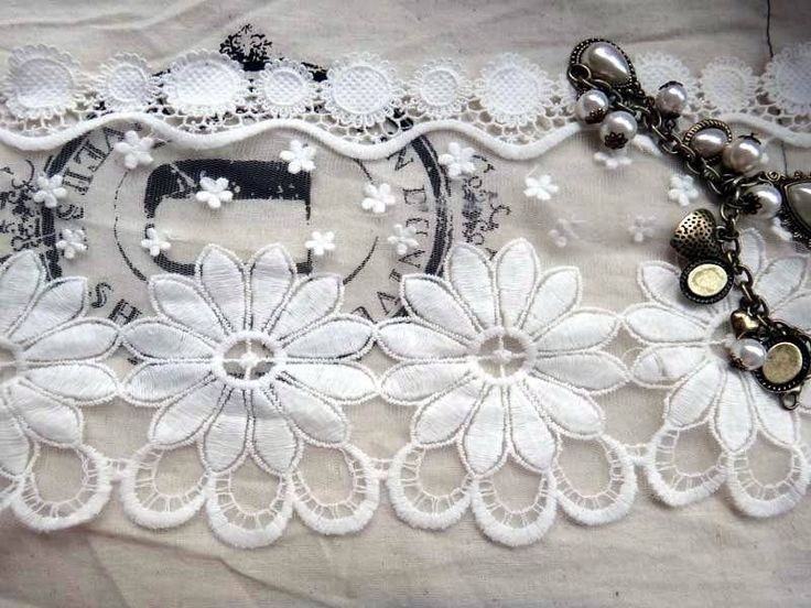 accessories vintage net embroidery fabric lace decoration 15cm(China (Mainland))
