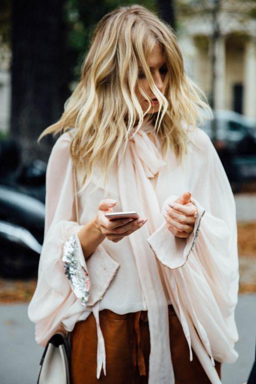 romantic sleeves.