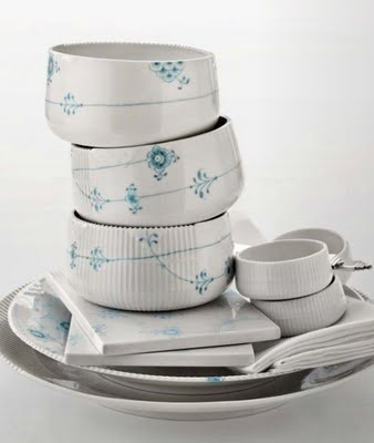 "Porcelain ""Elements""  by Louise Campbell for Royal Copenhagen"
