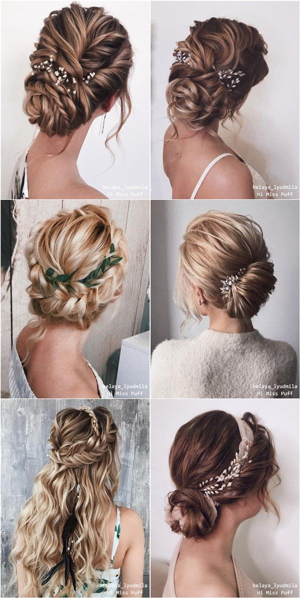 20 Long Wedding Hairstyles And Updos From Belaya Lyudmila