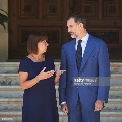 12-26 PALMA DE MALLORCA, SPAIN - JULY 31: King Felipe VI…... #consell: 12-26 PALMA DE MALLORCA, SPAIN - JULY 31: King Felipe VI…… #consell