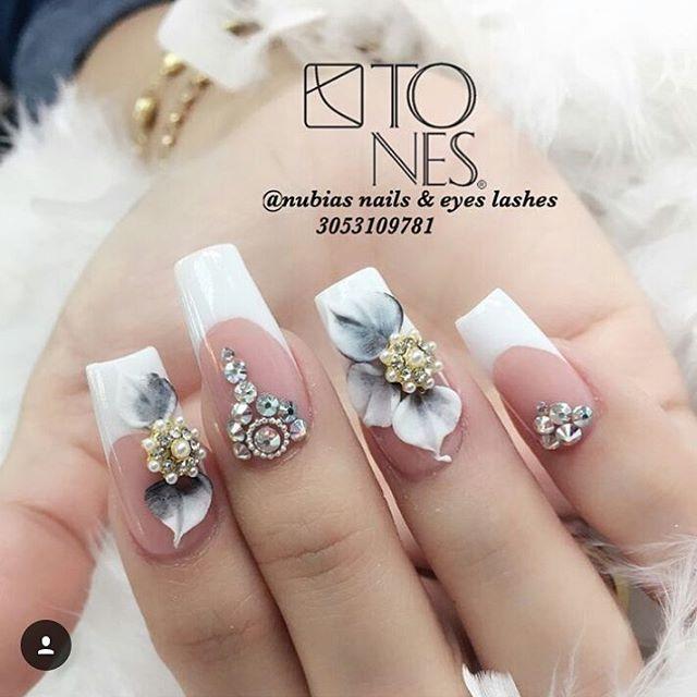 """381 Me gusta, 5 comentarios - Tones (@tonesproducts) en Instagram: """"#tonesproducts #tonesnailart #3ddesign #acrylicpowders #3dacrylic #3dflowers #tones @tonesproducts�"""