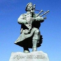 Piper Bill Millin Statue to be Unveiled in Normandy - Hero from FilmThe Longest Day about D-Day