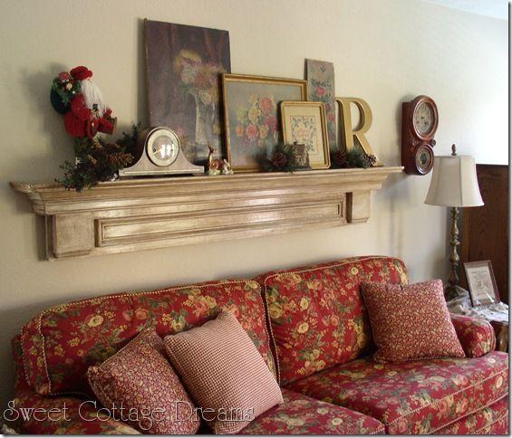 I Think A Simple Sofa Shelf Will Work Best