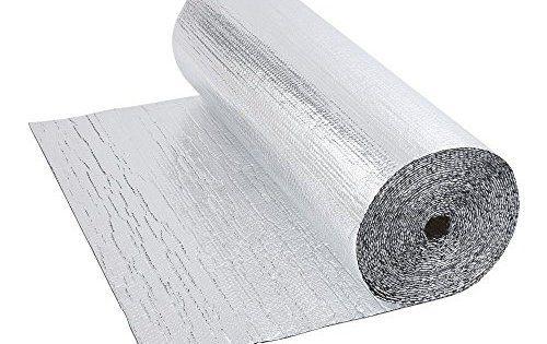 Biard ® – Isolation Thermique et Acoustique Feuille Aluminium Isolant Sol Mur Toit: Isolation phonique/thermique. Feuille aluminium/bulles…