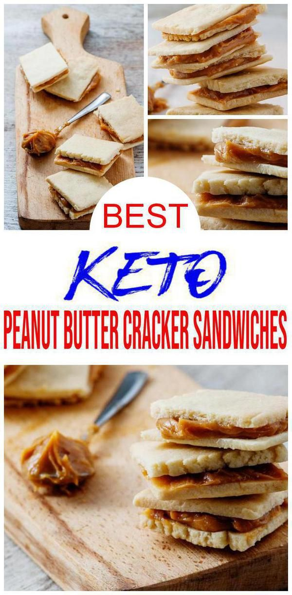 Surprise You Can Have Crackers On Keto Best Keto Recipes For Yummy Delicious Low Carb Peanut Butter Crackers Peanut Butter Crackers Food Homemade Snacks