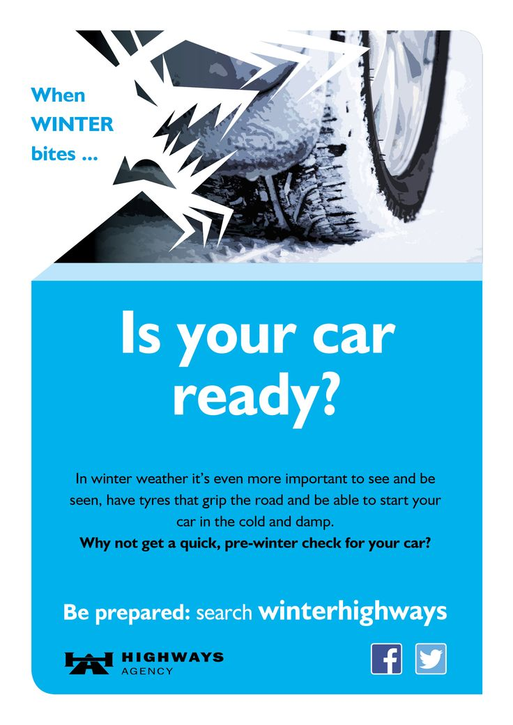 Check your car is ready before winter or at least before