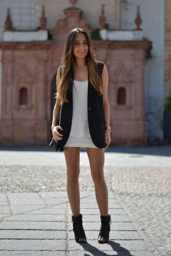 Wishful Thinking - Sleeveless Blazer