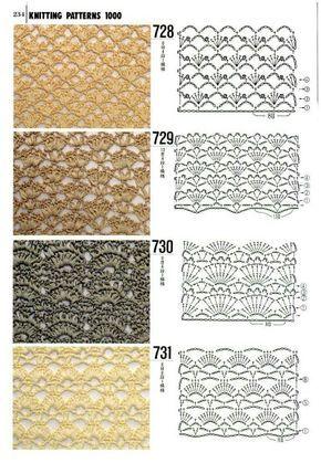 Crochet stitches. . http://www.greenmama.ru/nid/2732691/mnid/2747958 .