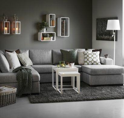 Wohnzimmer – Wohnzimmer Grau #WohnzimmerGrau, #Woh…