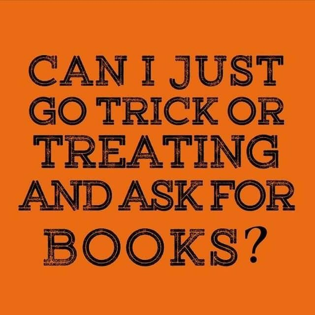 Instead of asking for candy can I have books