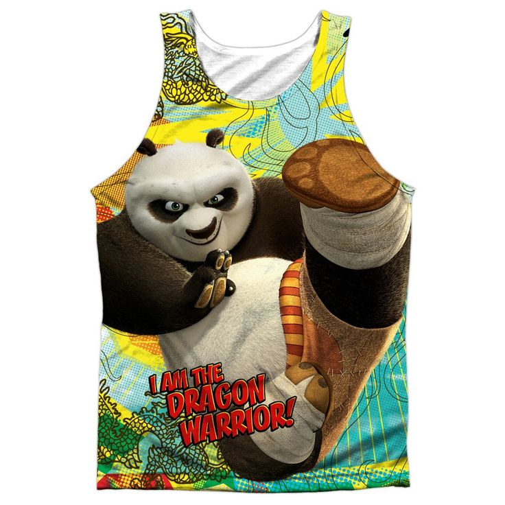"Checkout our #LicensedGear products FREE SHIPPING + 10% OFF Coupon Code ""Official"" Kung Fu Panda/dragon Warrior -adult 100% Poly Tank T- Shirt - Kung Fu Panda/dragon Warrior -adult 100% Poly Tank T- Shirt - Price: $24.99. Buy now at https://officiallylicensedgear.com/kung-fu-panda-dragon-warrior-adult-100-poly-tank-shirt-licensed"