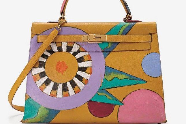 Первая выставка эксклюзивных сумок Hermès и предметов винтажной одежды в офисе Christie's - Adlet Fashion