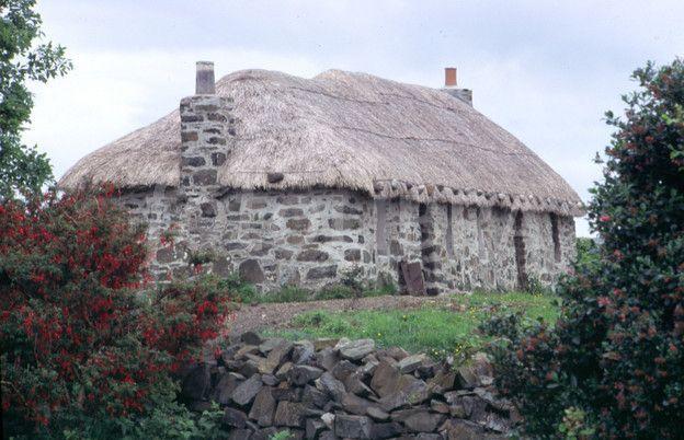 Scottish crofters cottage