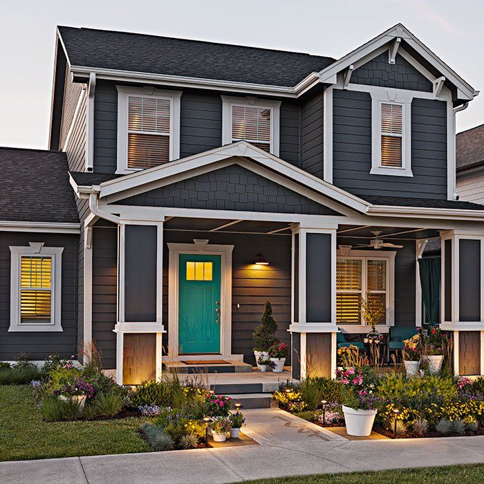 Give Your Home A Stylish New Look With Landscaping This Clean