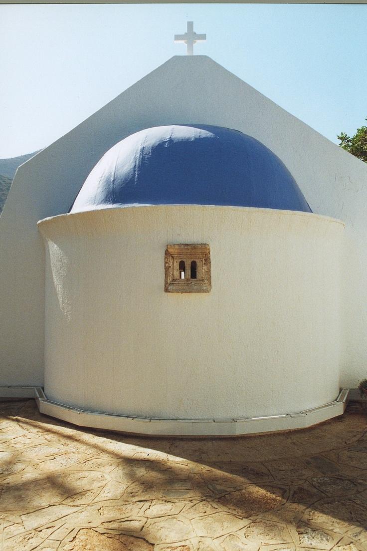 Traditional chapel, Elounda, Crete, Greece