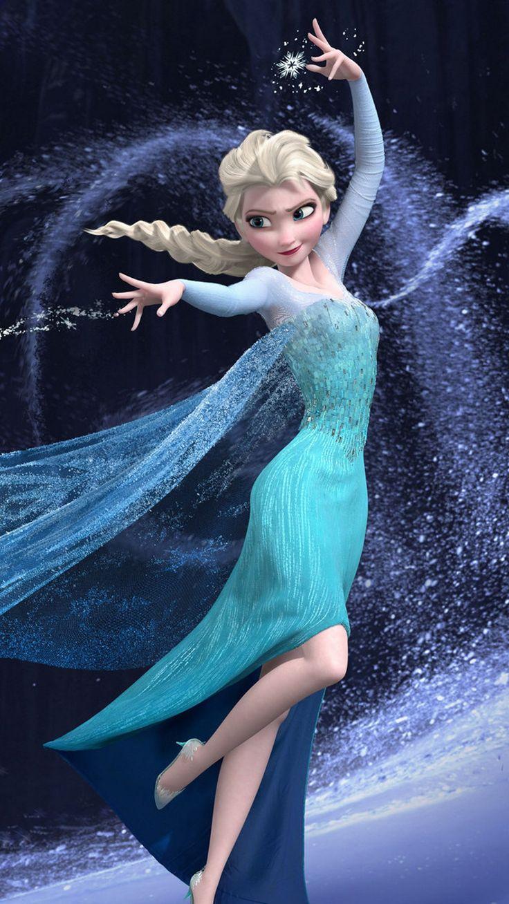 Magic Princess Elsa Frozen iPhone 6 plus wallpaper 2014