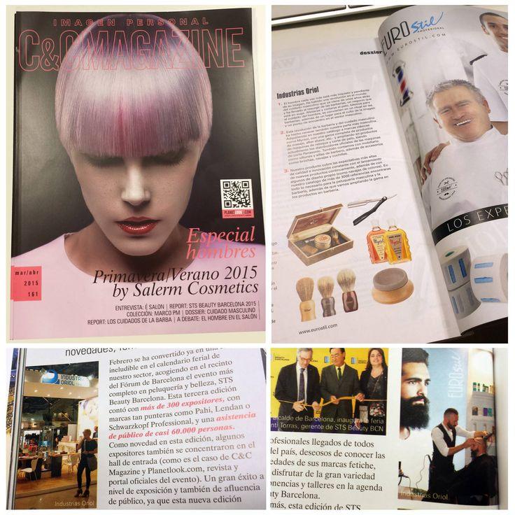 Artículo sobre nuestros productos de barbería Eurostil y sobre nuestro stand en Salón Sts Barcelona 2015