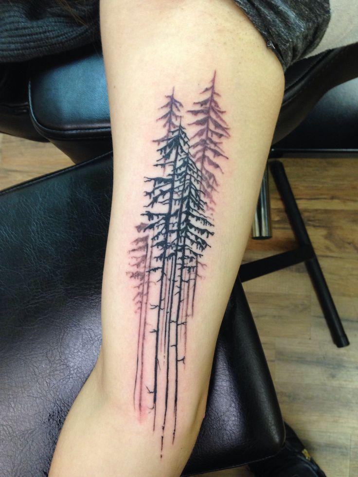 Forest tattoo!  Tattoo artist: Chuck Schmidt  The Parlor Tattooing  Saint Joseph MI  www.theparlortattooing.com