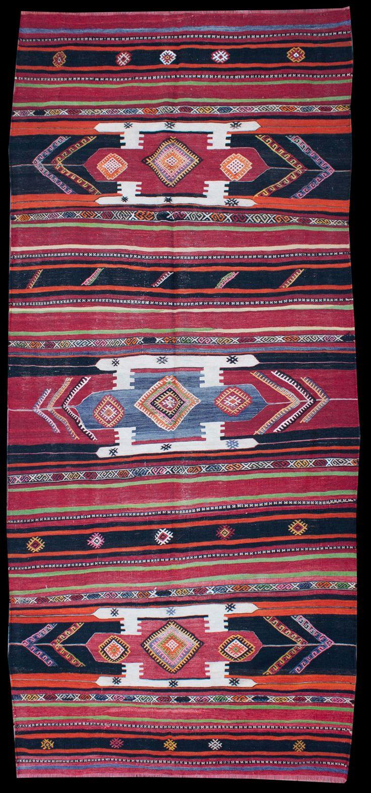 Anatolian Sivas Jijim Kilim  300 x 163 cm