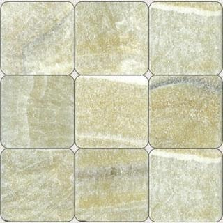 Giallo Crystal Onyx Tumbled Tile