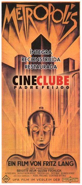 Metropolis en @bnodalourense , Ourense  @cineclubepf