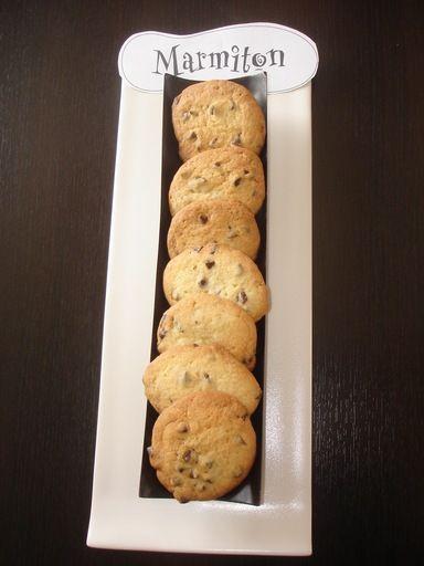 Cookies croquants - Recette de cuisine Marmiton : une recette