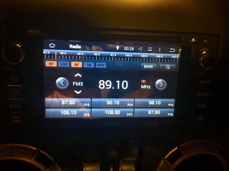 Jeep rubicon 2014 Android all in one audio.