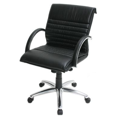 The Actia leather executive office chair is an ideal executive desk chair but is also perfect as a meeting room, boardroom room or visitors chair.