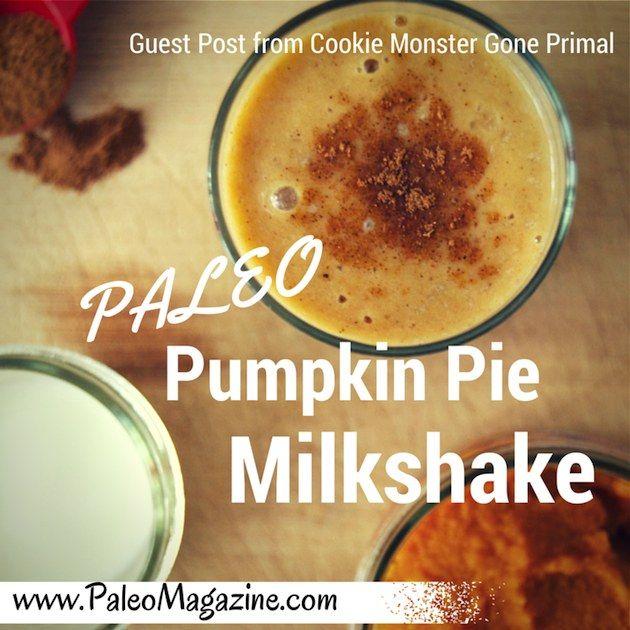 Paleo Pumpkin Pie Milkshake