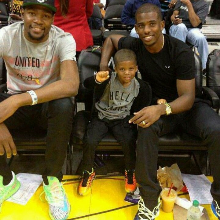 KD, CP3 and son   Chris Paul   Pinterest   The o'jays, The ...